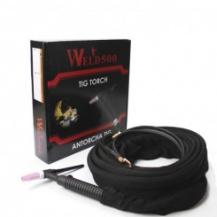 Antorcha Tig 200 AMP 25ft flexible. Tienda Linde.