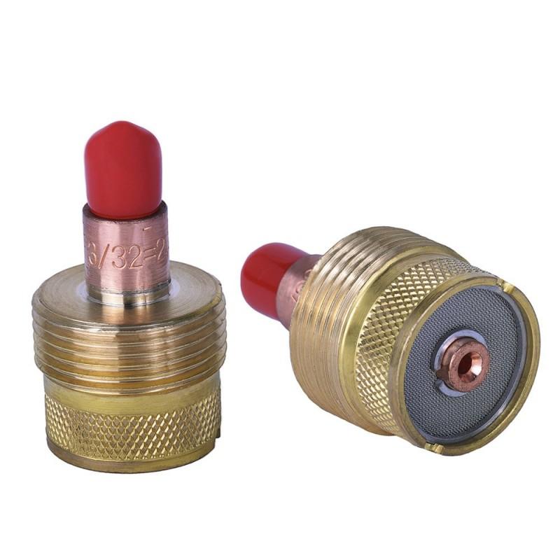Gas lens grande 3/32'' para antorchas 9/20/22 Y 25. Tienda Linde